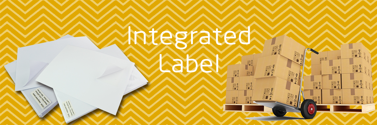 Wholesale OEM 210*297mm A4 integrated invoice paper labels